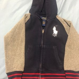 Toddlers Polo sweater/hoodie